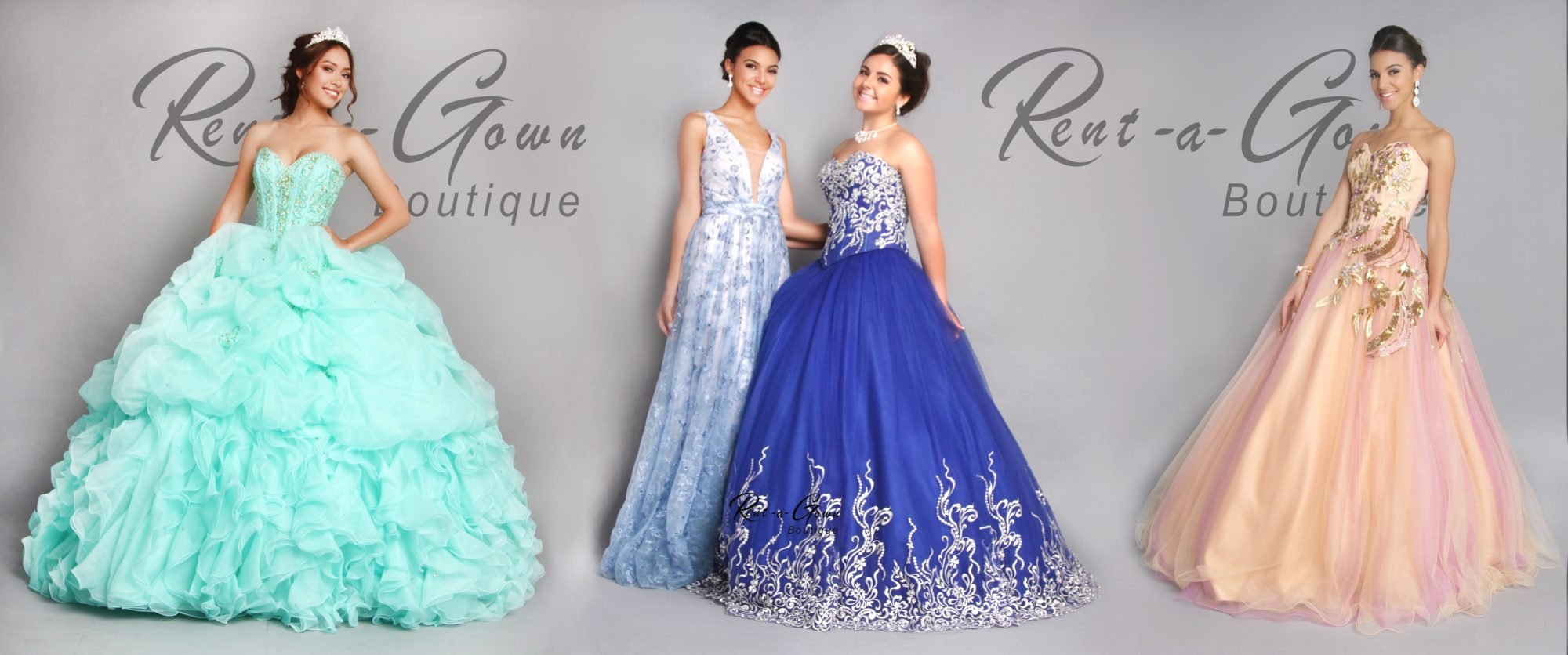 Fifteen Dresses Gown for Rent